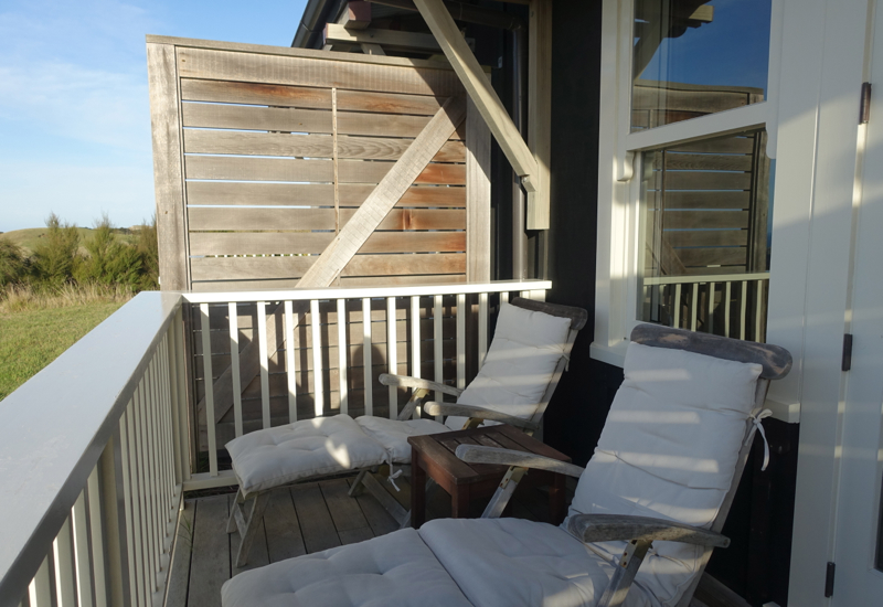 Lodge Suite Deck, The Farm at Cape Kidnappers Review