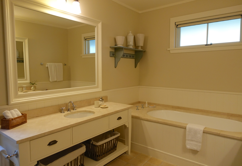 Lodge Suite Bathroom, The Farm at Cape Kidnappers Review