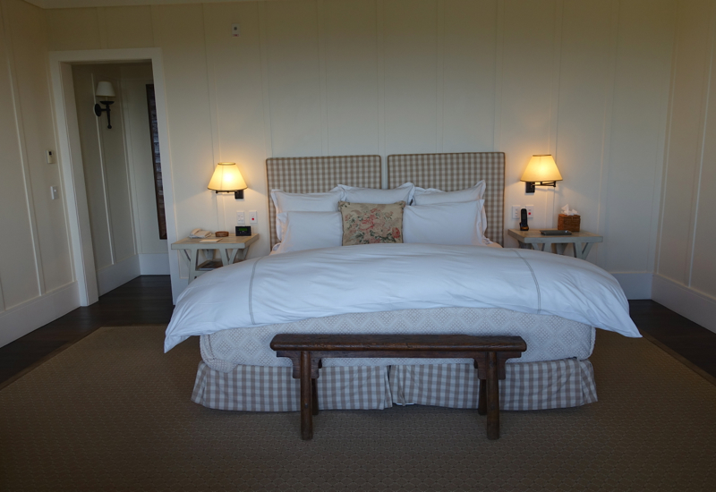 King Bed, The Farm at Cape Kidnappers Review
