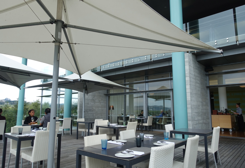 Elephant Hill Winery Restaurant Review-Outdoor Deck