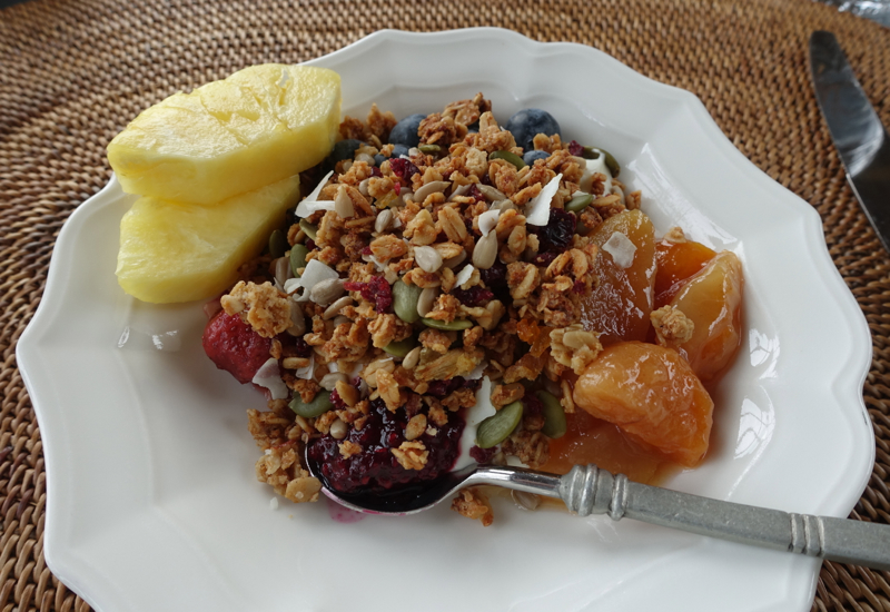 Yogurt with Homemade Granola, The Farm at Cape Kidnappers Breakfast Review