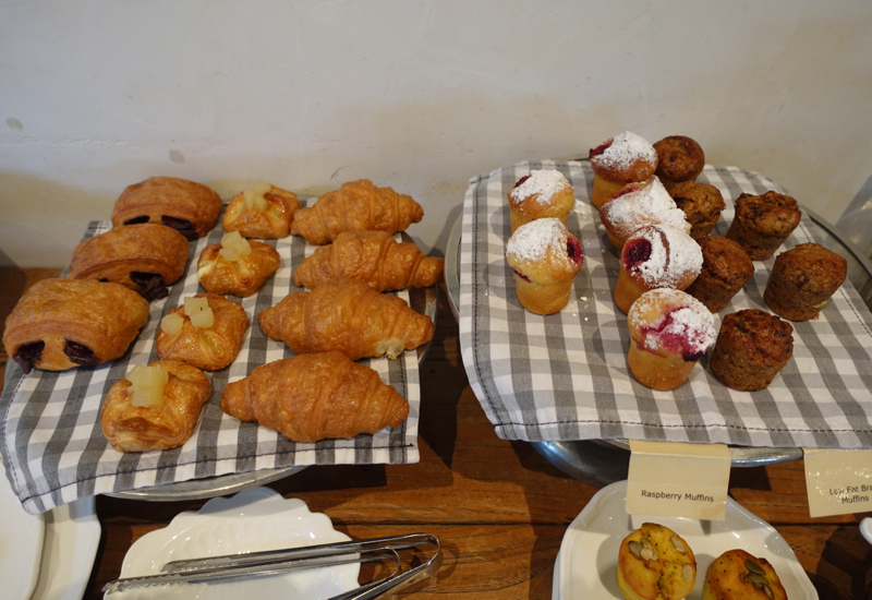 Breakfast Pastries, The Farm at Cape Kidnappers Review