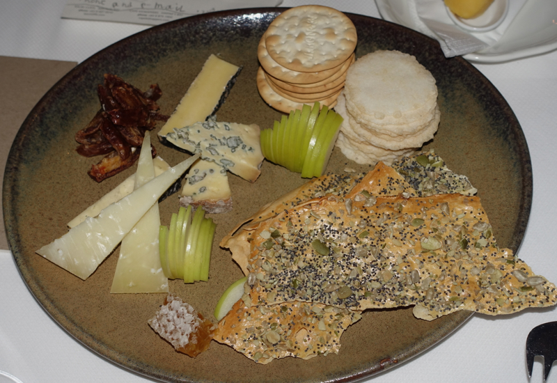 Cheese Plate, The Farm at Cape Kidnappers Restaurant Review