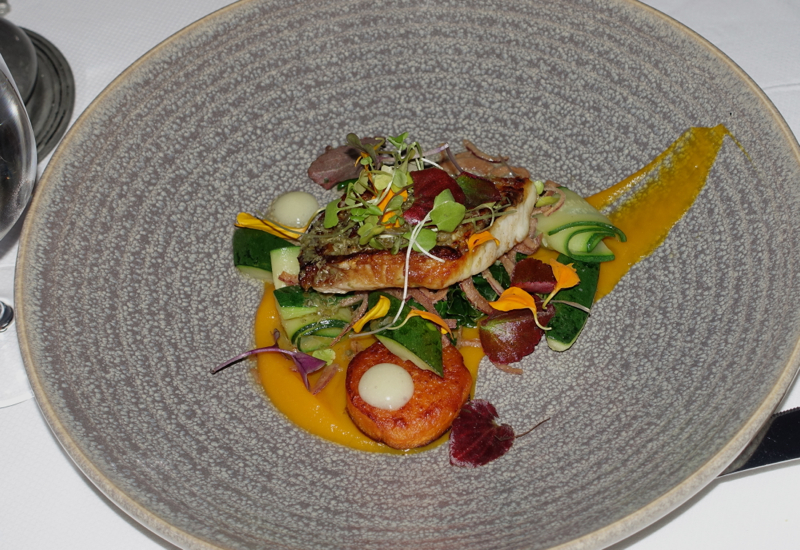 Grilled Tarakihi Fish, The Farm at Cape Kidnappers Restaurant Review