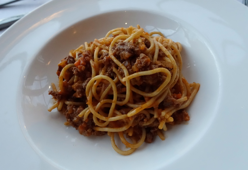 Kids' Menu Spaghetti with Meat Sauce, The Farm at Cape Kidnappers Review