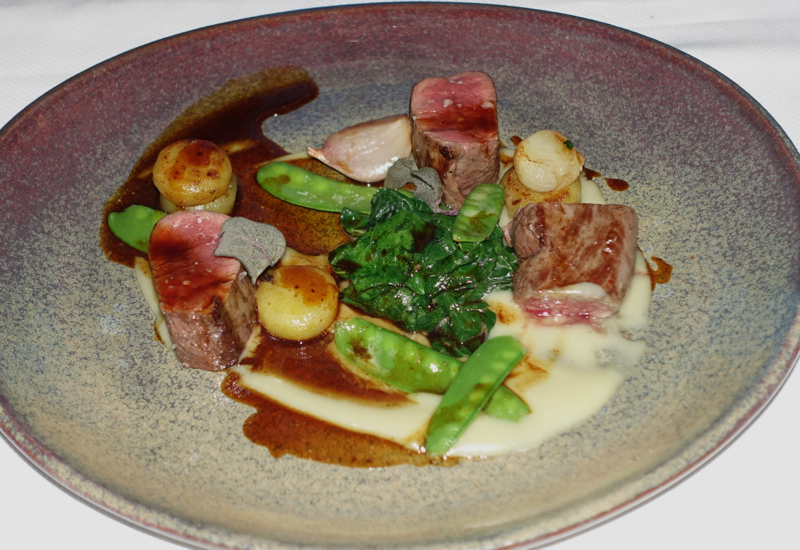 Wild Venison Main, The Farm at Cape Kidnappers Restaurant Review