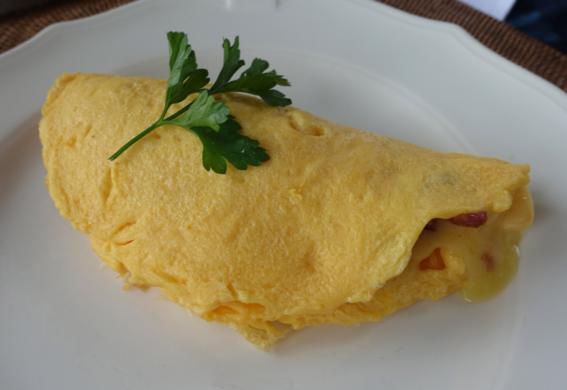 Omelet Made to Order, The Farm at Cape Kidnappers Breakfast Review