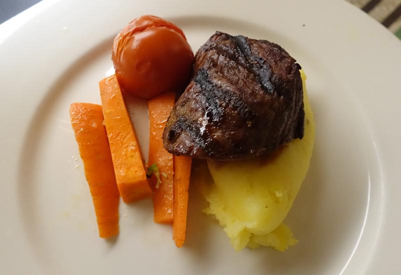 Kids' Menu Steak Dinner, Novotel Auckland Airport Review
