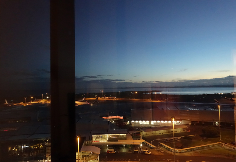 View from Novotel Auckland Airport Hotel Suite