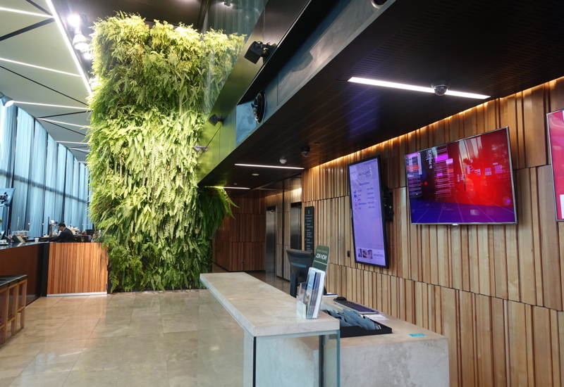 Novotel Auckland Airport Hotel Review-Lobby and Front Desk