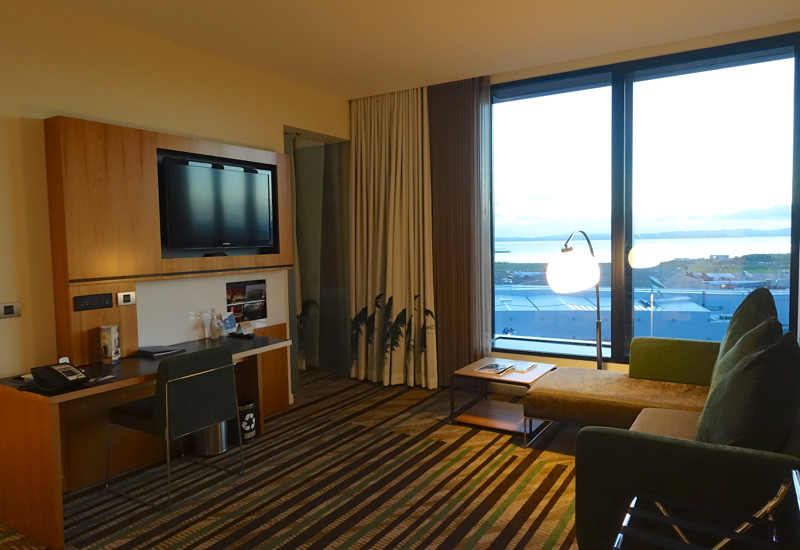 Novotel Auckland Airport Review-Suite Living Room