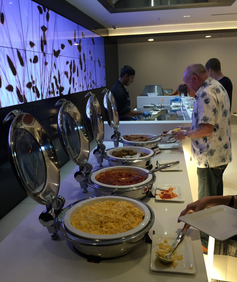 Air New Zealand Auckland Lounge Review-Breakfast Buffet