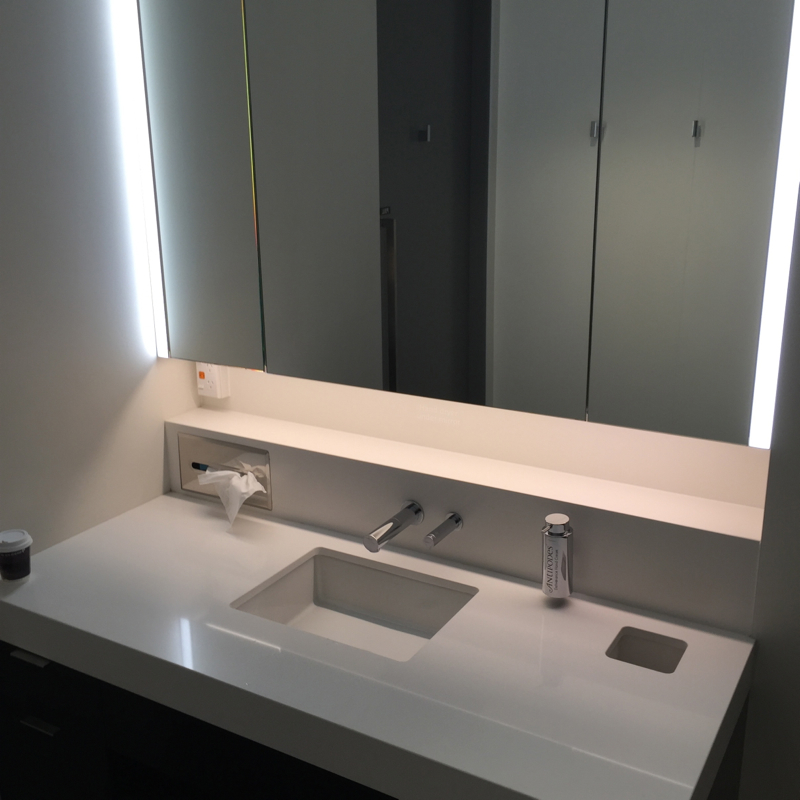 Air New Zealand Auckland Lounge Review-Shower Room Sink