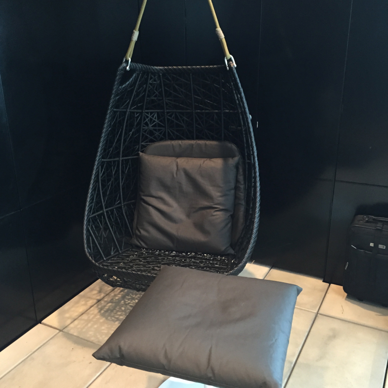 Swing Seat, Air New Zealand Auckland Lounge Review