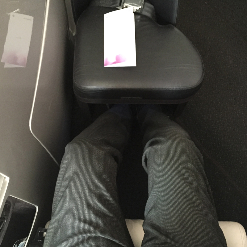 Air New Zealand Business Premier Review-Lack of Leg Room