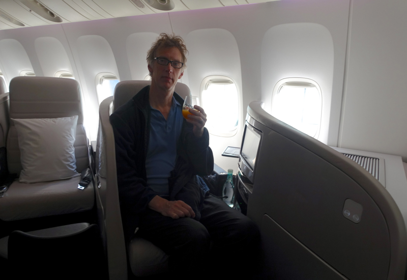 Air New Zealand Business Premier Review-Seat 2A
