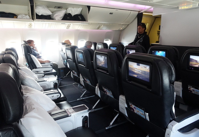 Review: Air New Zealand Premium Economy Cabin, 777-200ER