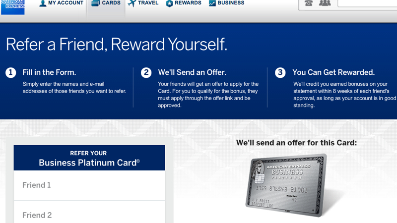 American Express Platinum Travel Spg