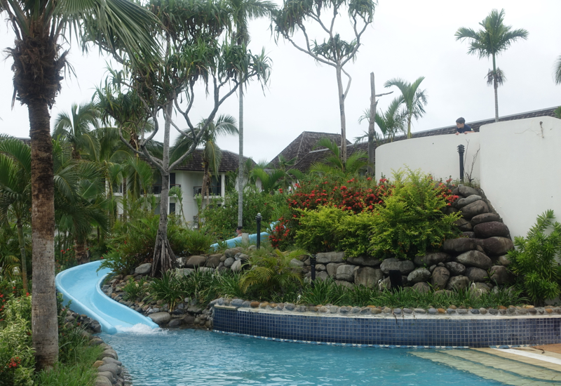 Sofitel Fiji Review: Kids' Water Slide