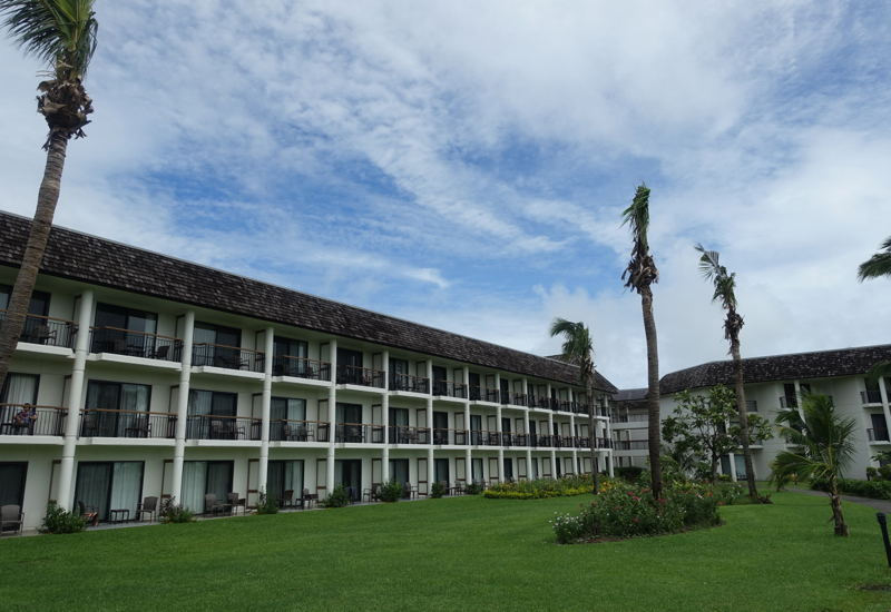 Sofitel Fiji Resort & Spa Review: Hotel Exterior and Lawn
