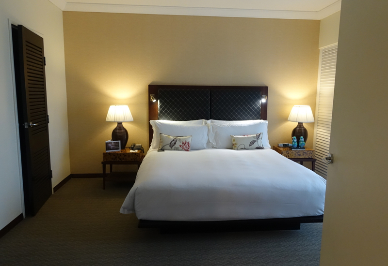 Sofitel Fiji Opera Suite Bedroom Review
