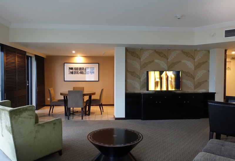 Sofitel Fiji Opera Suite Review-Living Room