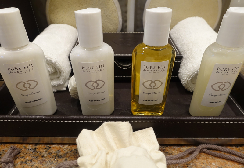 Sofitel Fiji Review-Pure Fiji Bath Products