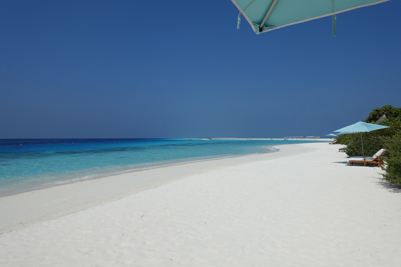 Beach at Four Seasons Maldives at Landaa Giraavaru
