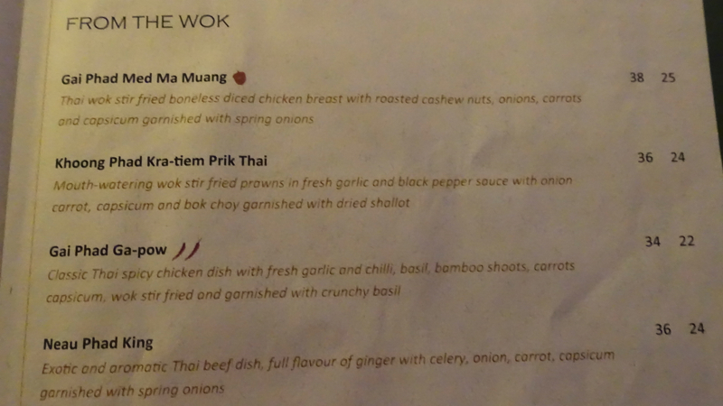 Chantara Thai Fiji Menu-Wok Dishes