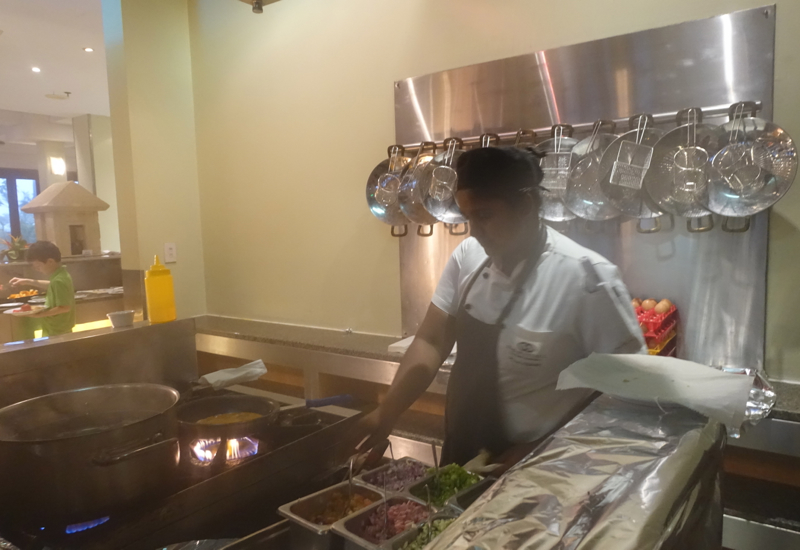 Sofitel Fiji Breakfast Buffet-Omelet Station