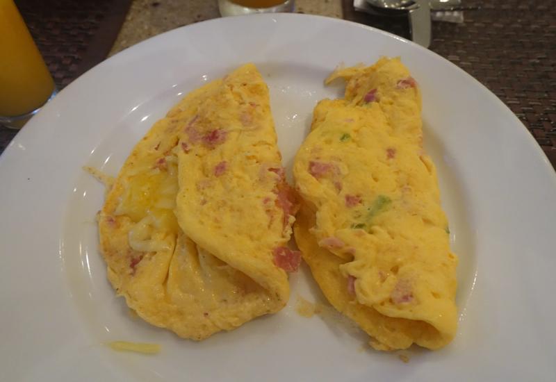Omelets, Sofitel Fiji Breakfast Review