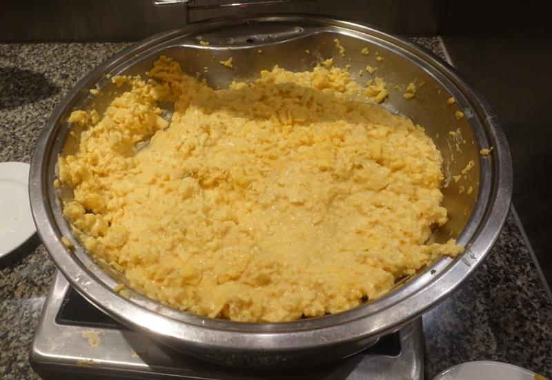 Scrambled Eggs, Sofitel Fiji Breakfast Buffet Review