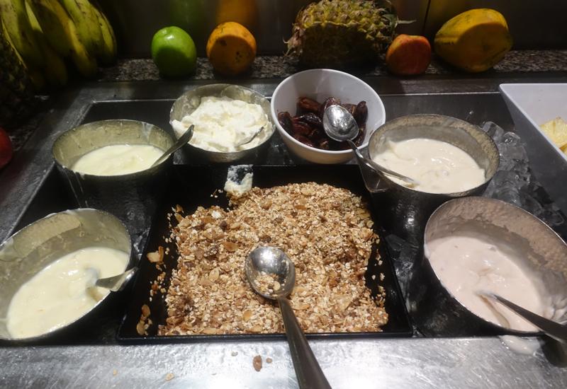 Sofitel Fiji Breakfast Buffet Review: Yogurts