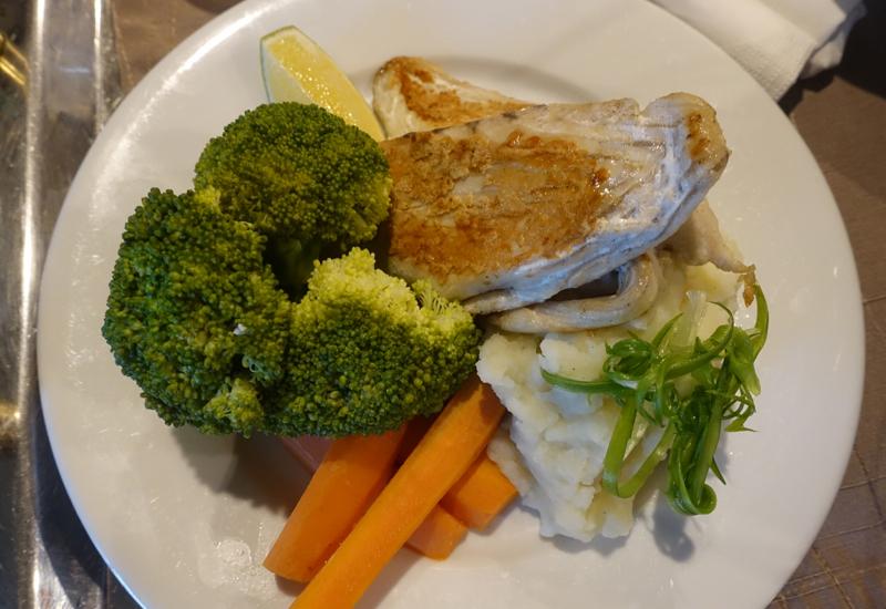 Kids' Menu Fish Lunch, Sofitel Fiji Room Service Review