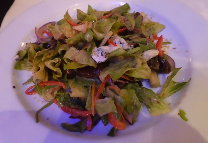 Fig and Blue Cheese Salad, Salt Restaurant, Sofitel Fiji Review