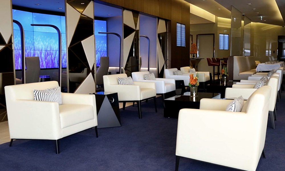 Etihad New First Class Lounge, Abu Dhabi is Now Open