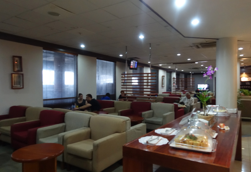 Fiji Airways Tabua Club Lounge, Nadi Review: Seating