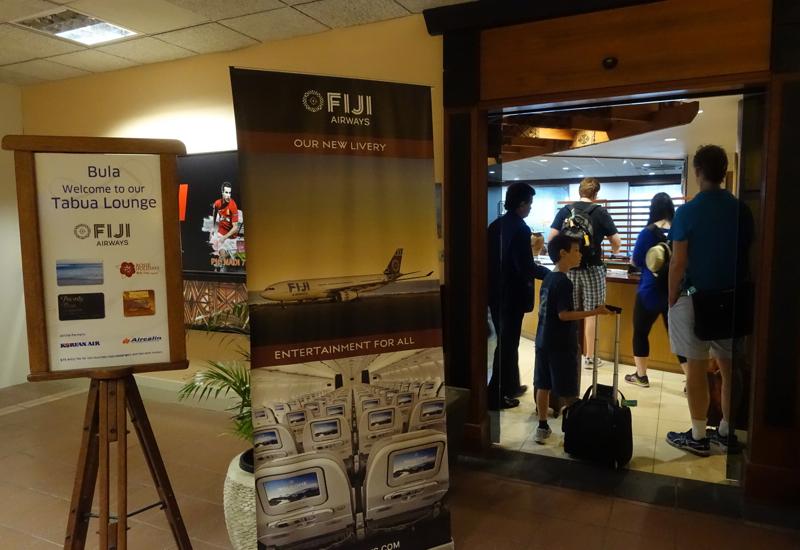 Fiji Tabua Club Lounge, Nadi Airport Entrance