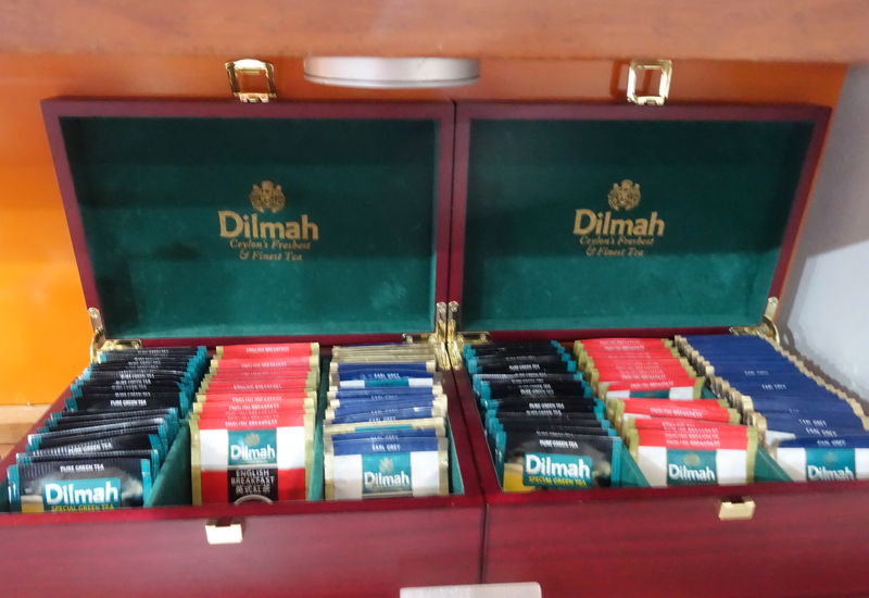 Dilmah Tea, Fiji Airways Nadi Airport Lounge Review