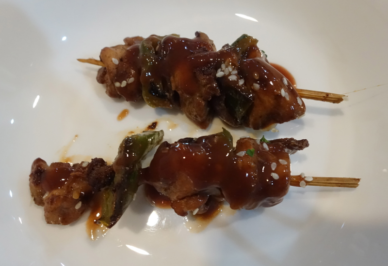 Tasty Meat Skewers, Fiji Airways Nadi Airport Lounge Review
