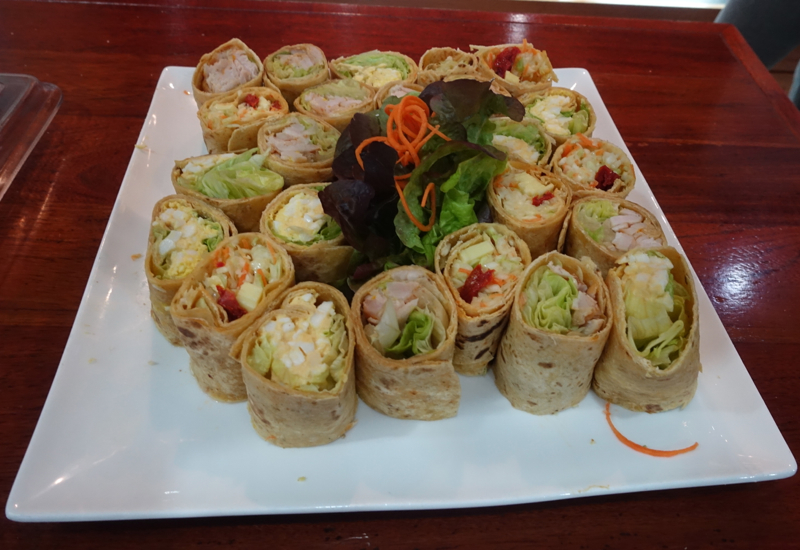 Sandwich Wraps, Fiji Airways Nadi Lounge Review