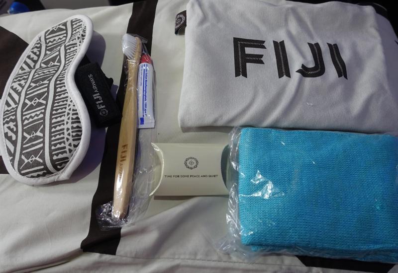 Fiji Airways Business Class Amenity Kit Review