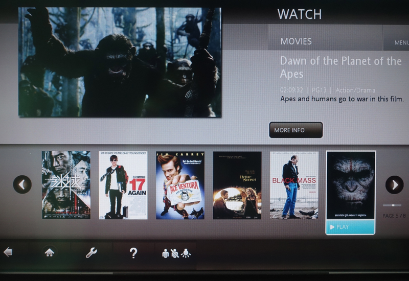 Fiji Airways In Flight Entertainment Review - Film Selection