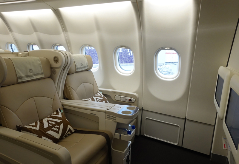 Fiji Airways Business Class Review: Seats 1A and 1B