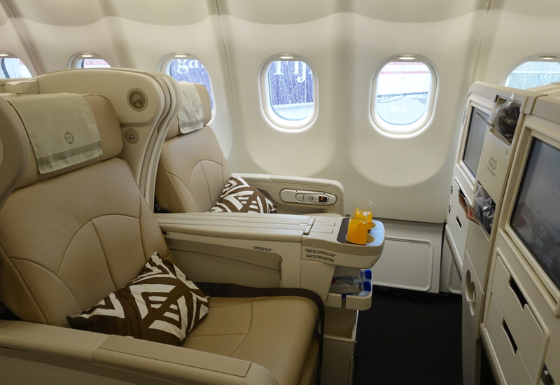 Review: Fiji Airways Business Class A330 NAN-LAX