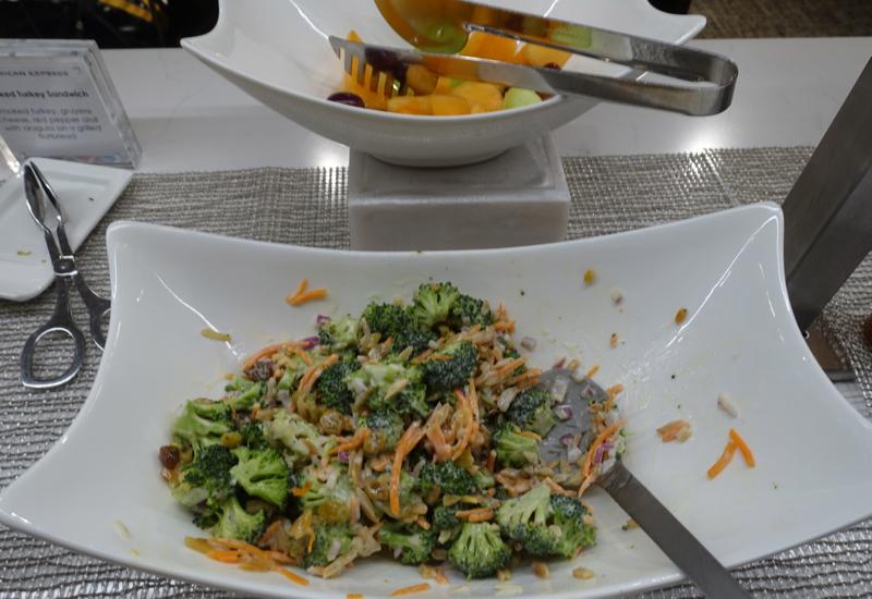 Salads, AMEX Centurion Studio Seattle Review