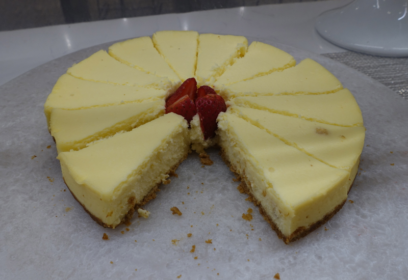 Cheesecake, AMEX Centurion Studio Seattle Review
