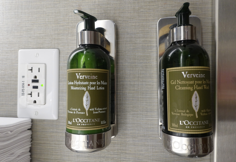 L'Occitaine Verveine Soap and Moisturizer, AMEX Centurion Studio SEA Review