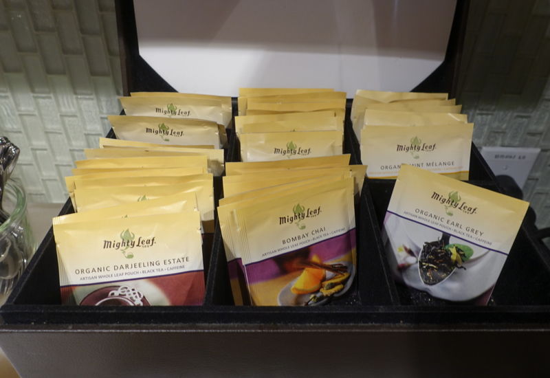 Mighty Leaf Tea, AMEX Centurion Studio, Seattle Review