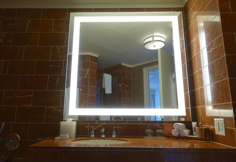 Loews Regency San Francisco Hotel Review: Bathroom